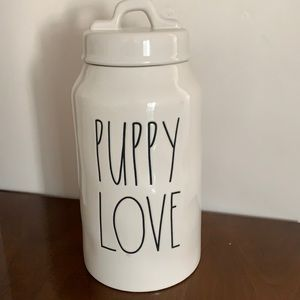 🆕 Rae Dunn Puppy Love Canister